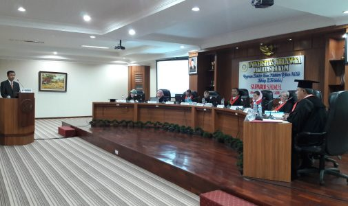 A PROSECUTOR ON KPK BECAME 350TH GRADUATE FROM DOCTORAL PROGRAM OF JURISPRUDENCE OF LAW FACULTY AIRLANGGA